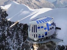 Realto.ru - Отель, парящий над пропастью, открыт в Альпах