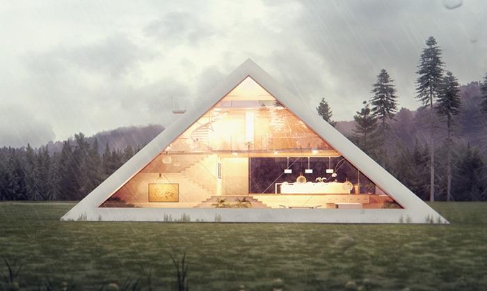 Realto.ru - Pyramid House — пирамида XXI века на зависть фараонам